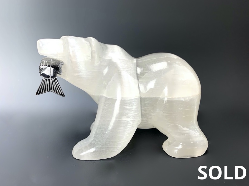 - Mari The Selenite Hungry Bear #108