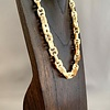 - Fossil Walrus Ivory Link Necklace #292
