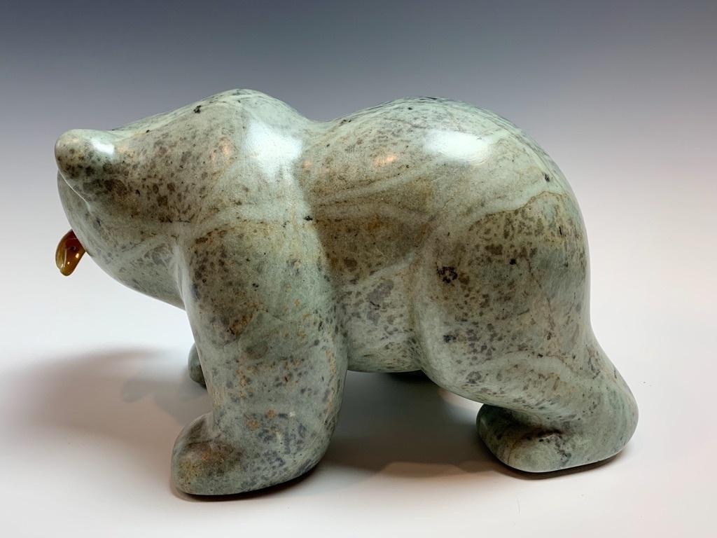 Barry The Soapstone Bear #300
