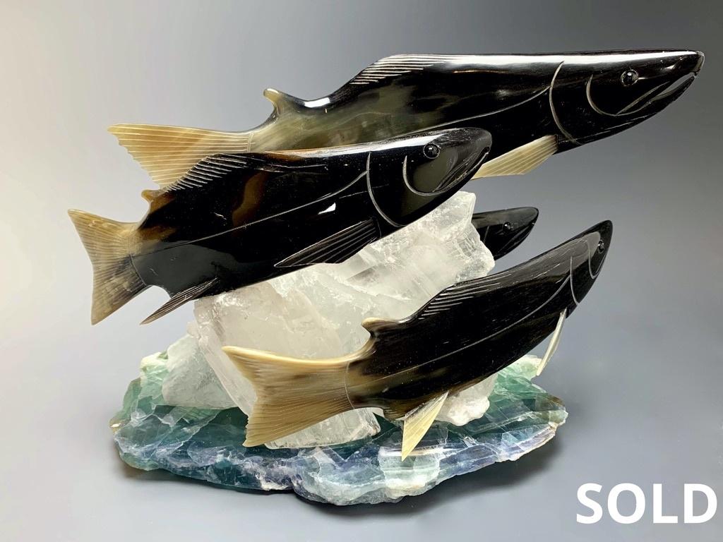Spawning Salmon #220