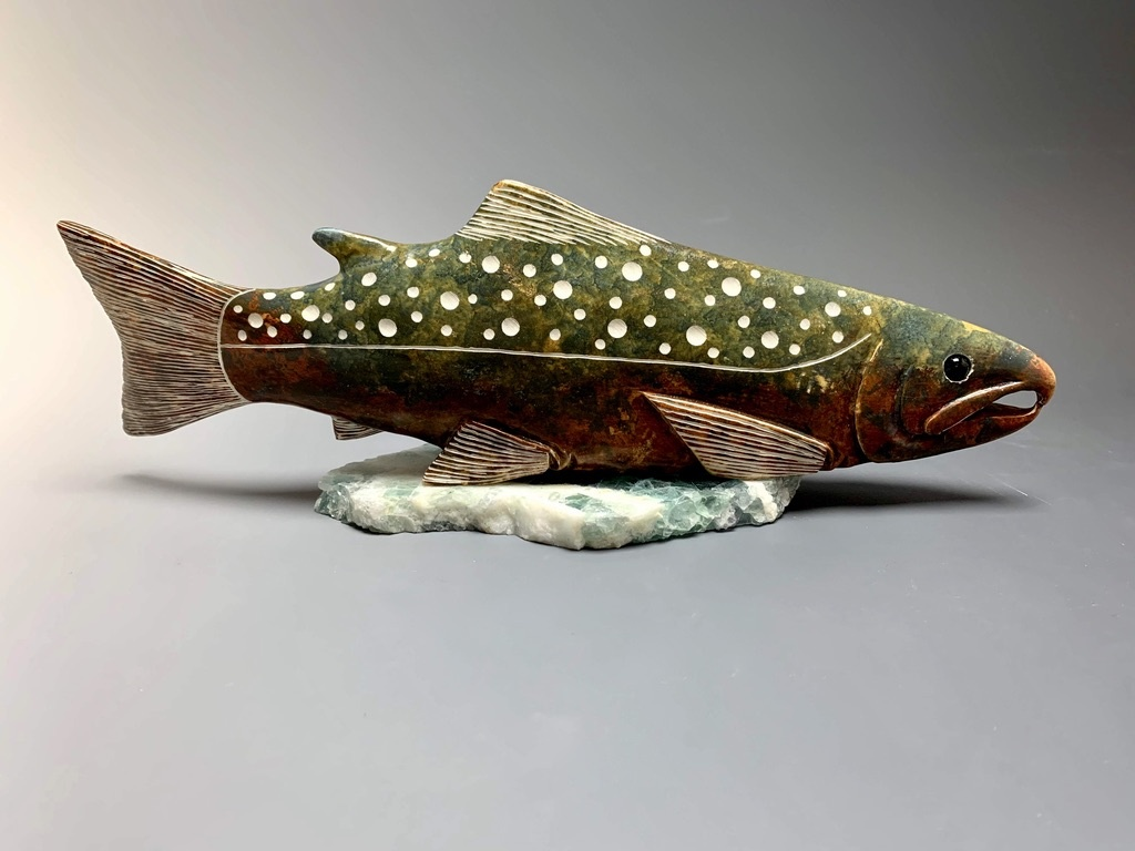 Salmon Sculpture #175