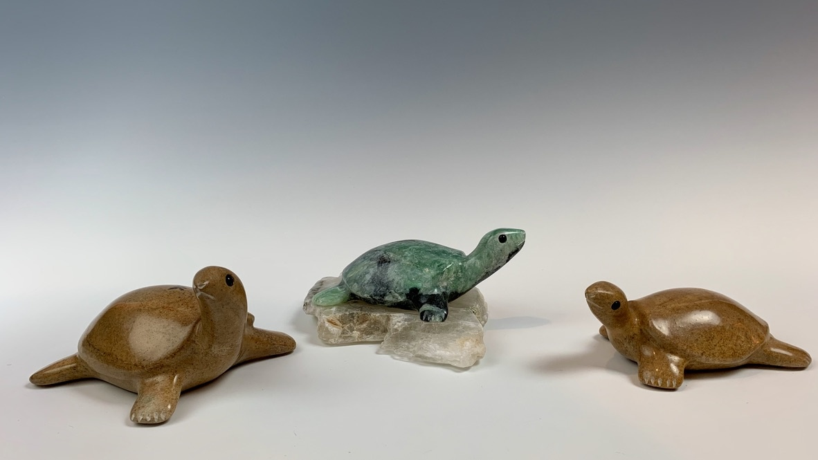 - Terry - The Soapstone Turtle #329