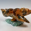 Adam - Soapstone Swimming Bear #354