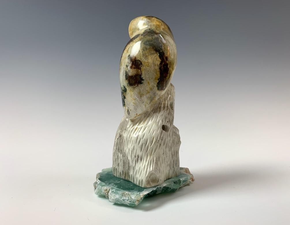 Ophelia - The Soapstone Owl #349