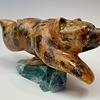 - Evi - Soapstone Swimming Bear #352