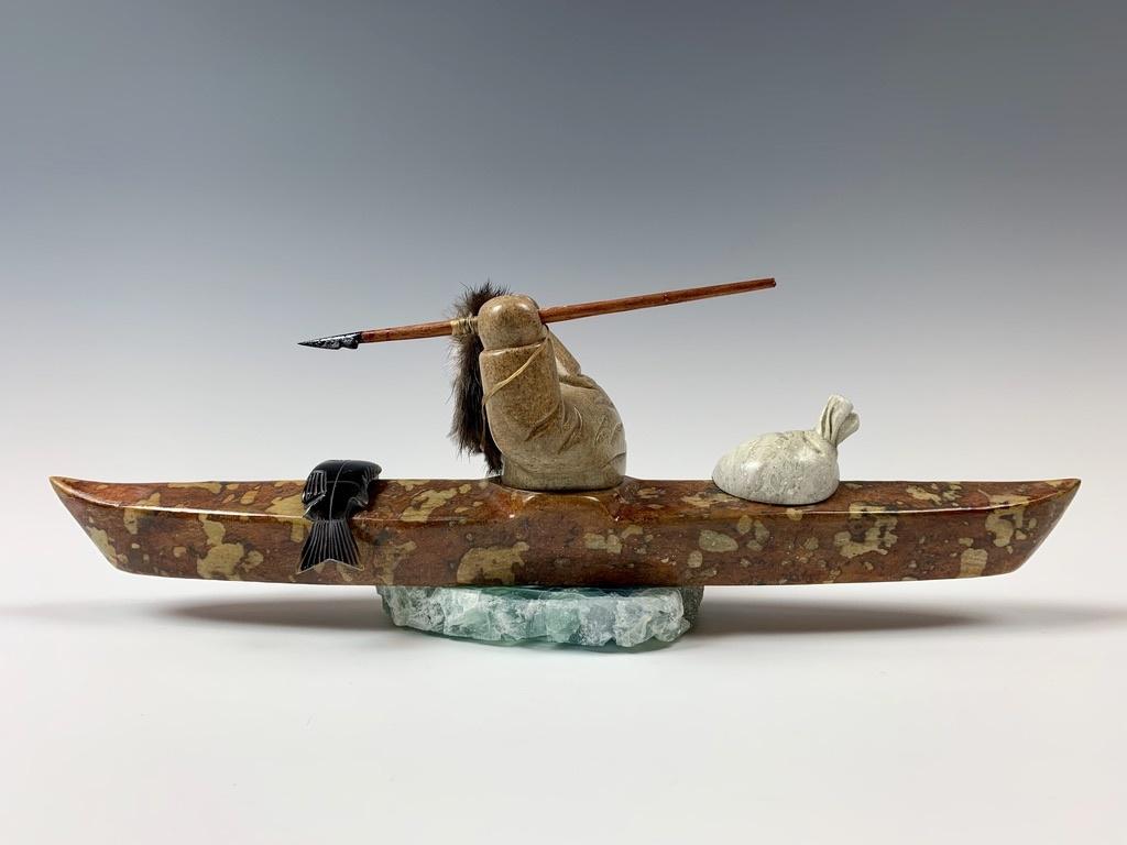 Kayaker - Soapstone #359