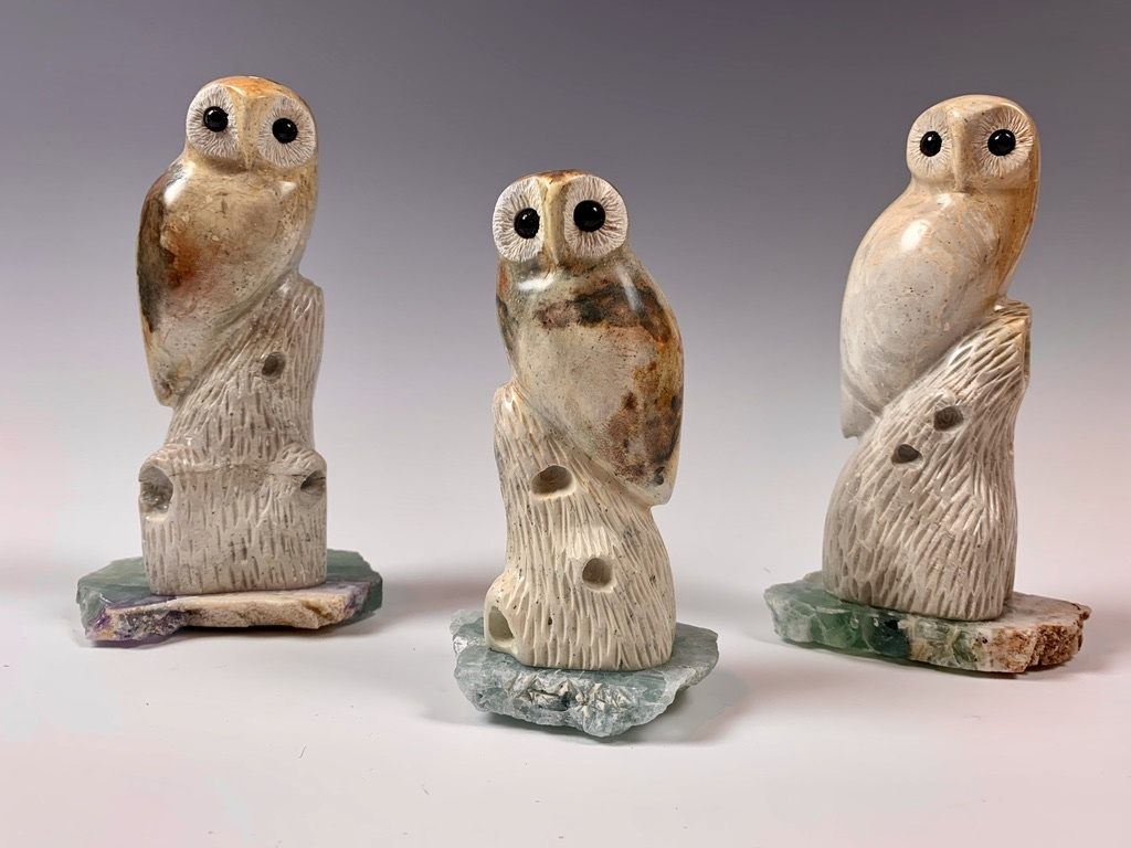 - Odi - The Soapstone Owl #347