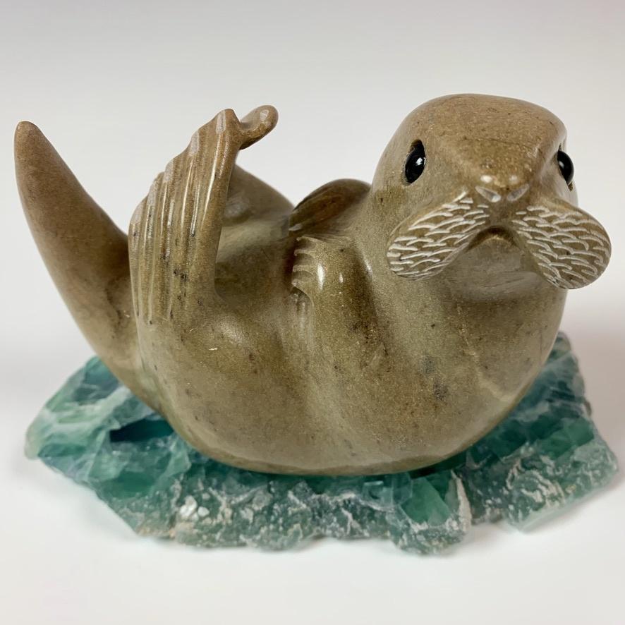 - Liam - Soapstone Sea Otter #335