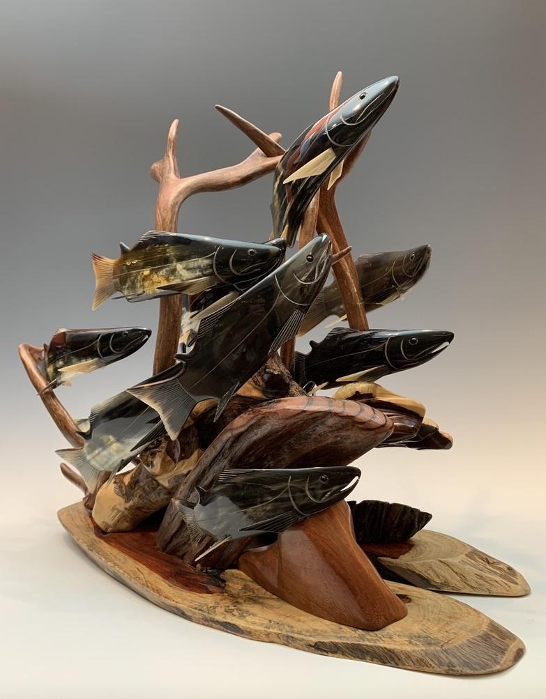 - Spawning Salmon #324