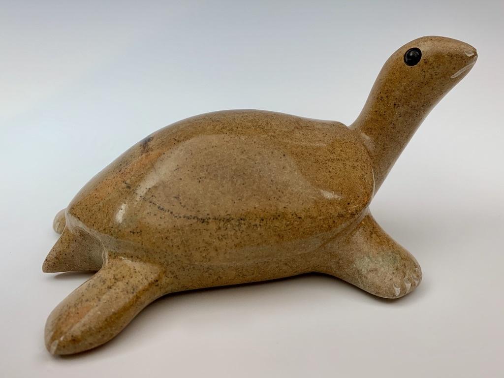 - Terrance - Soapstone Turtle #331