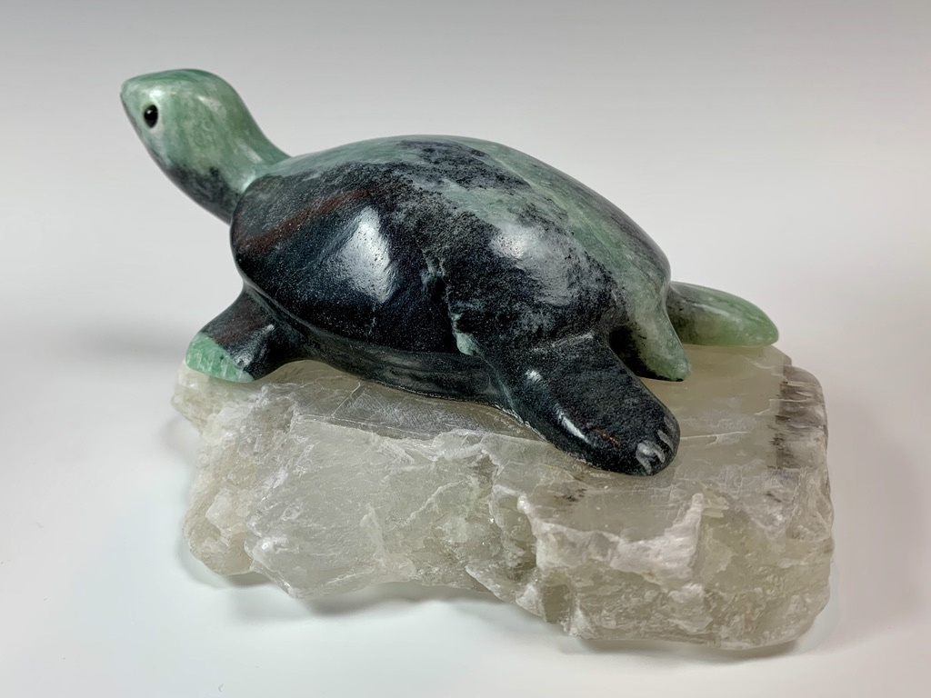 - Tiffany - Soapstone Turtle #330