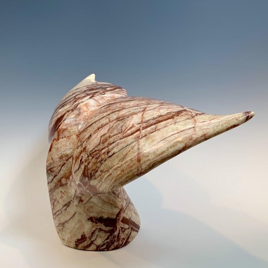 - Whale Fluke - Marble Sculpture # 372