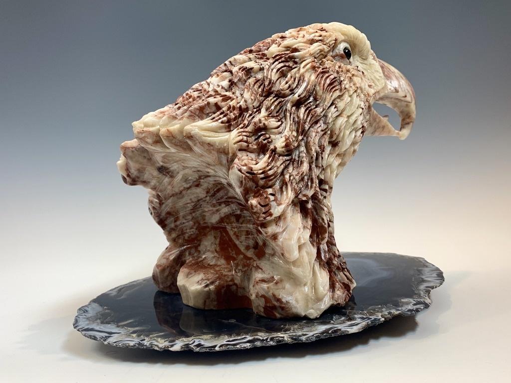 - Eagle - Marble Sculpture #374