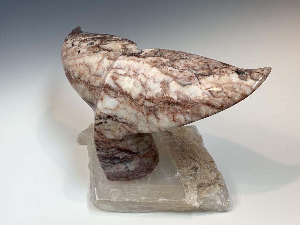 - Whale Fluke - Marble Sculpture #377