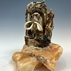 - Meredith - Fossilized Mammoth Molar Sculpture #380