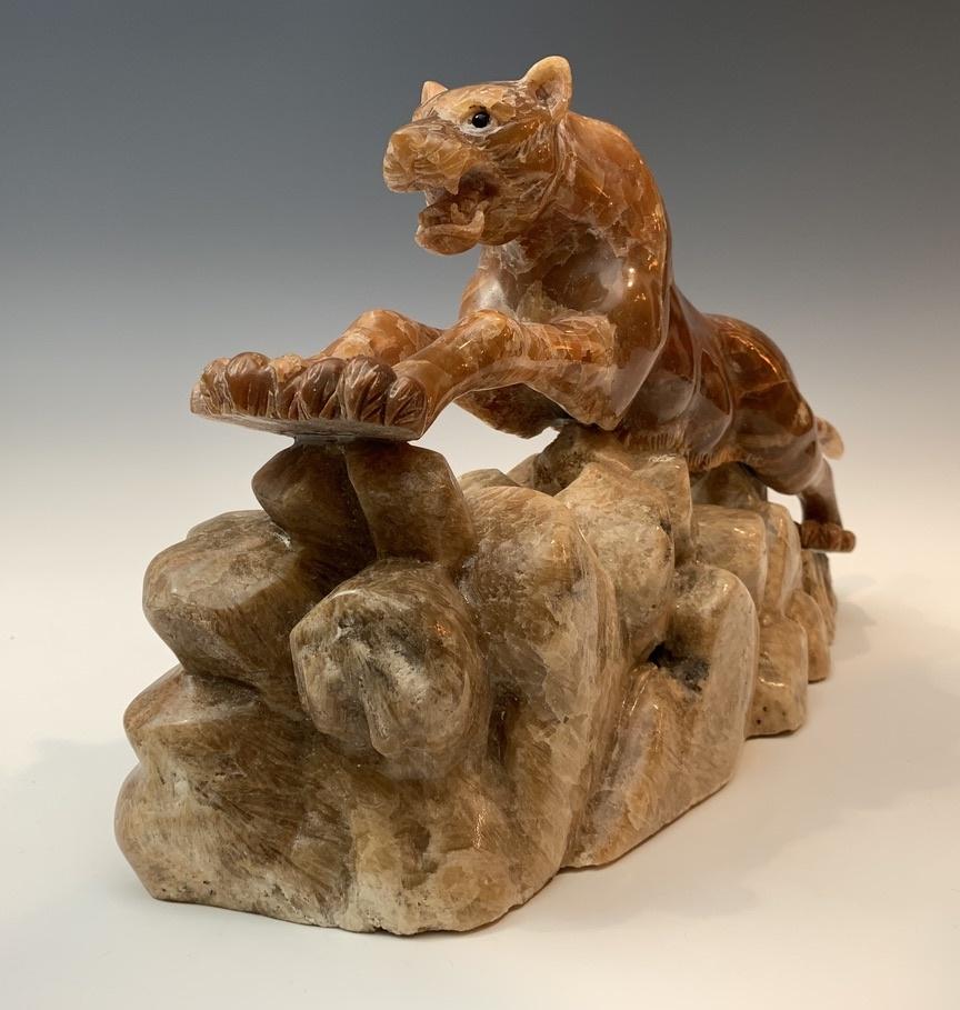 Cheetah - Marble Sculpture #381