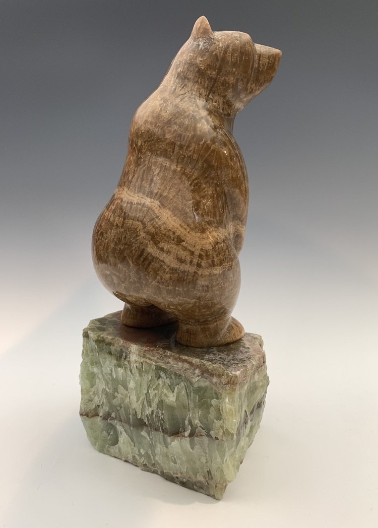 Standing Bear - Marble Sculpture #396