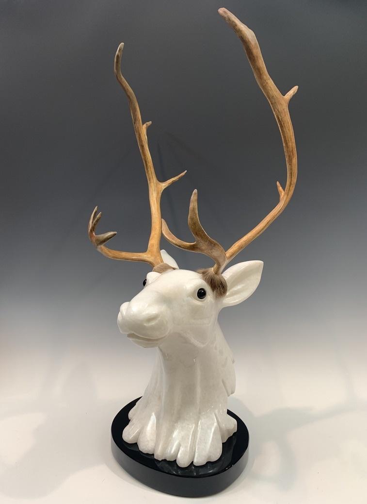 - Caribou - Marble Sculpture #398