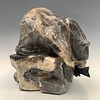 Hungry Bear - Marble Sculpture #399