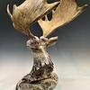 Moose - Marble Sculpture #402