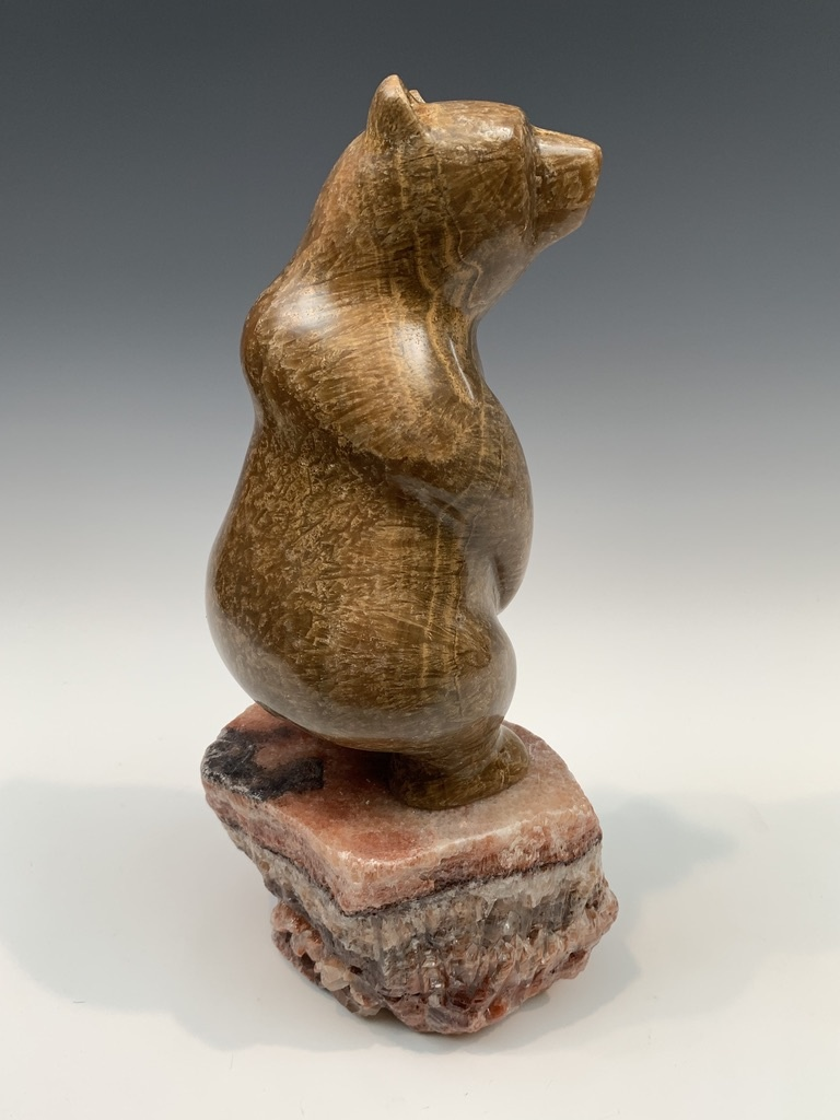 Standing Bear - Marble Sculpture #405