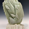 Spawning Salmon - Soapstone Sculpture #406-SOLD