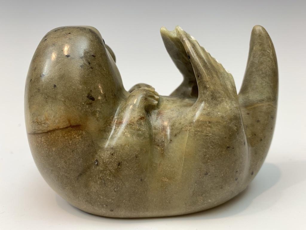 Buddy - Soapstone Sea Otter #427