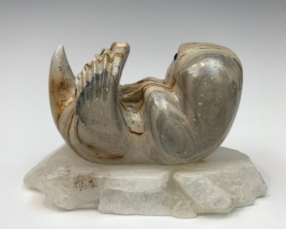 - Lizzy - Soapstone Sea Otter #429