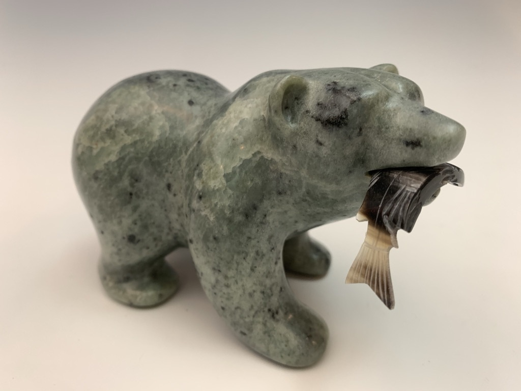 Randall - Soapstone Bear #437