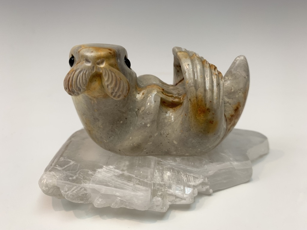 George - Soapstone Sea Otter #428