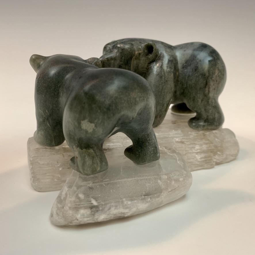 Bobby and Scarlett - Soapstone Bears #433-SOLD