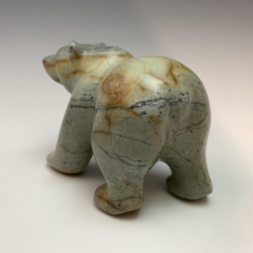 -Delilah - Soapstone Bear #436