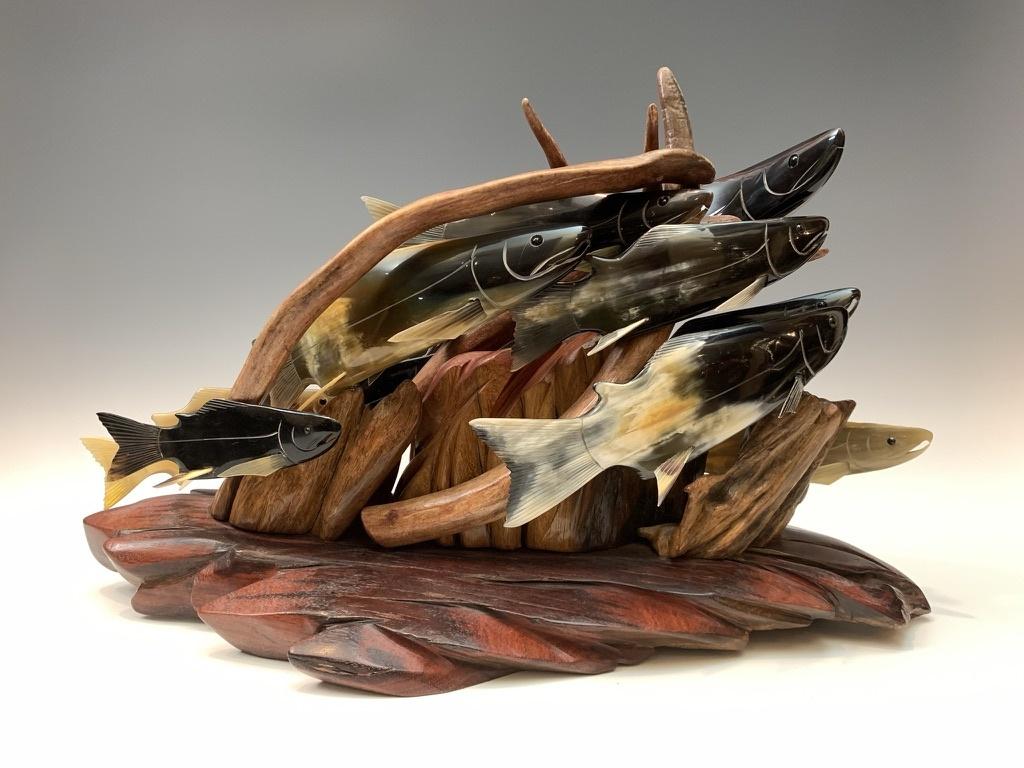 - Spawning Salmon #431