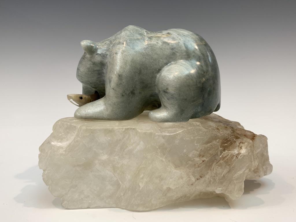 Arya - Soapstone Bear #451