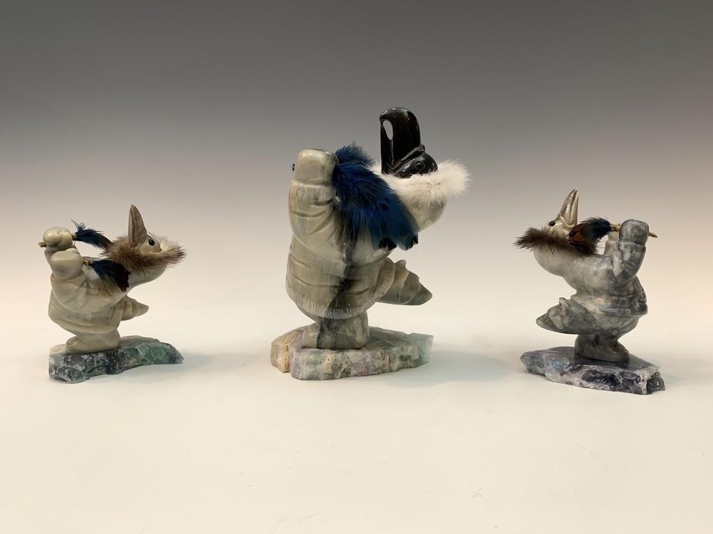 Raven and Bear Dancing Shaman  #443  - SOLD