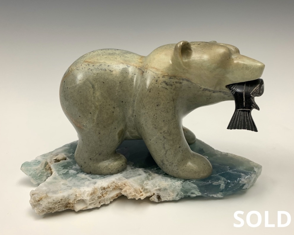 - Howard - Soapstone Bear #447