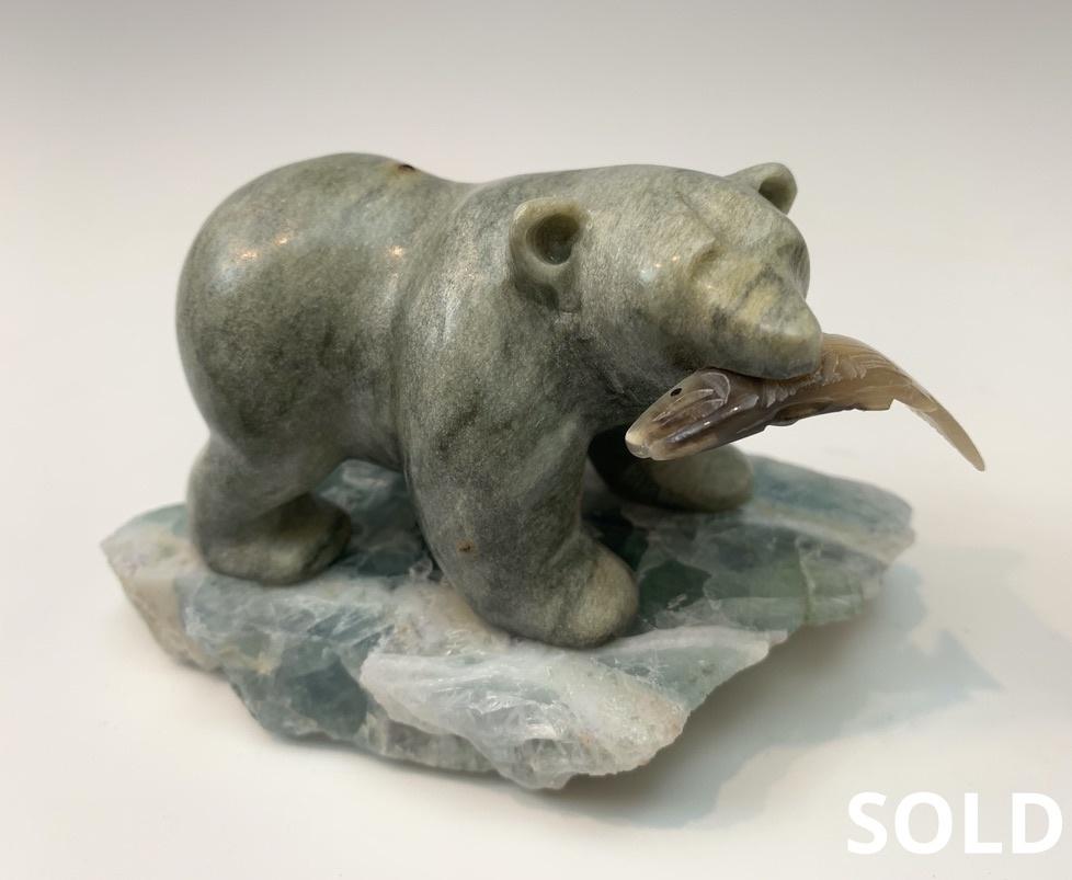 Jessie - Soapstone Bear #435