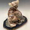 Bear and Cub - Marble Sculpture #463
