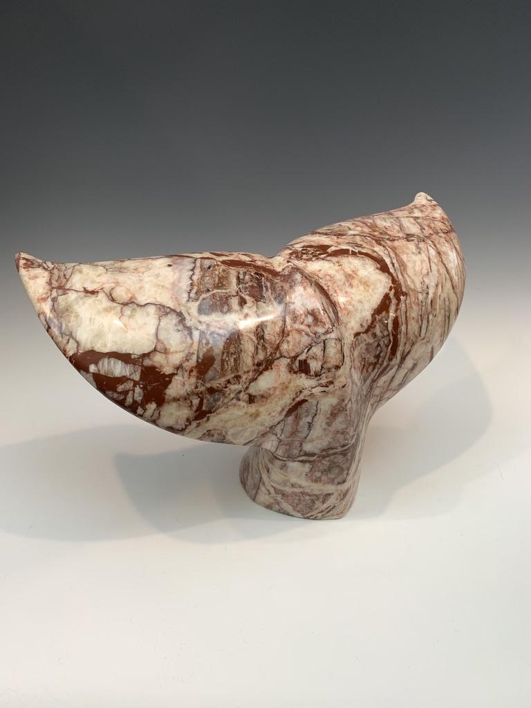 - Whale Fluke - Marble Sculpture #466
