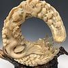- Mermaid - Sheephorn Sculpture #457