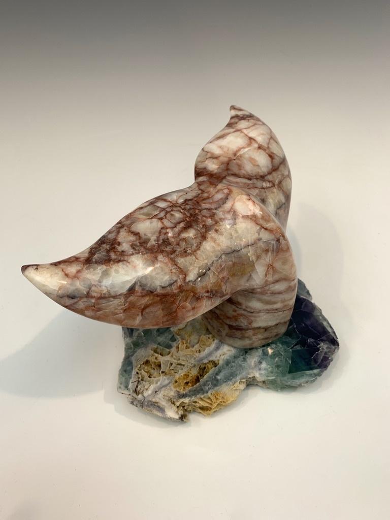 Whale Fluke - Marble Sculpture #465