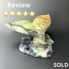 Whale tail Soapstone Carving #136