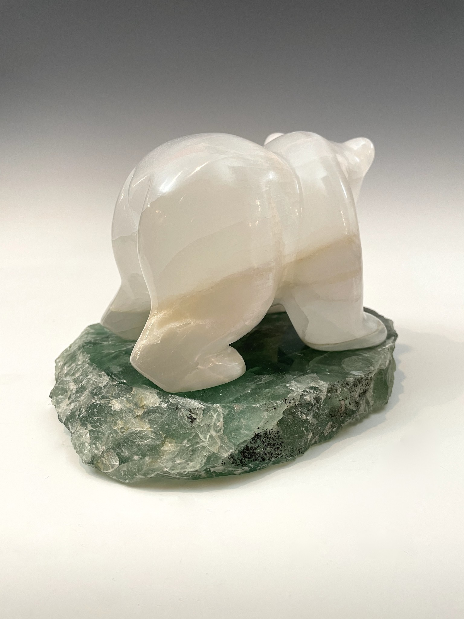 Selenite Bear #469