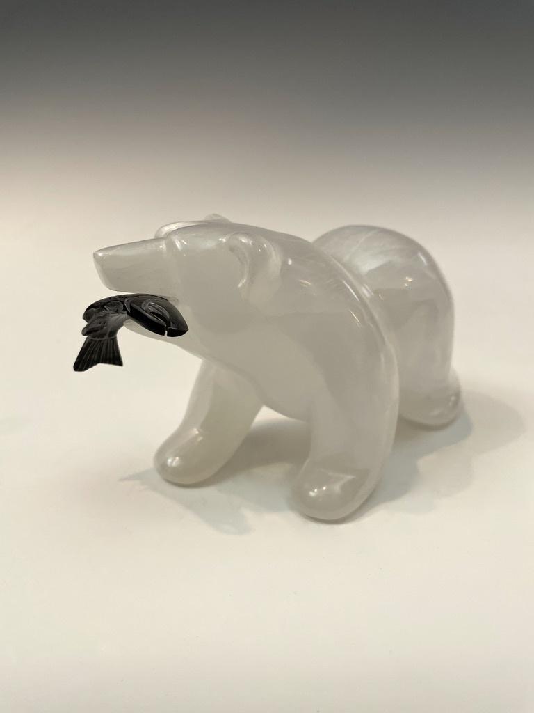 Selenite Bear #468