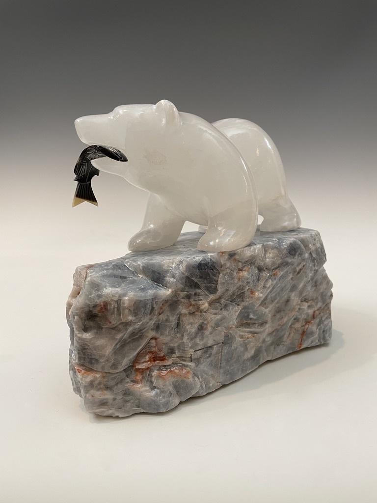 Selenite Bear #471
