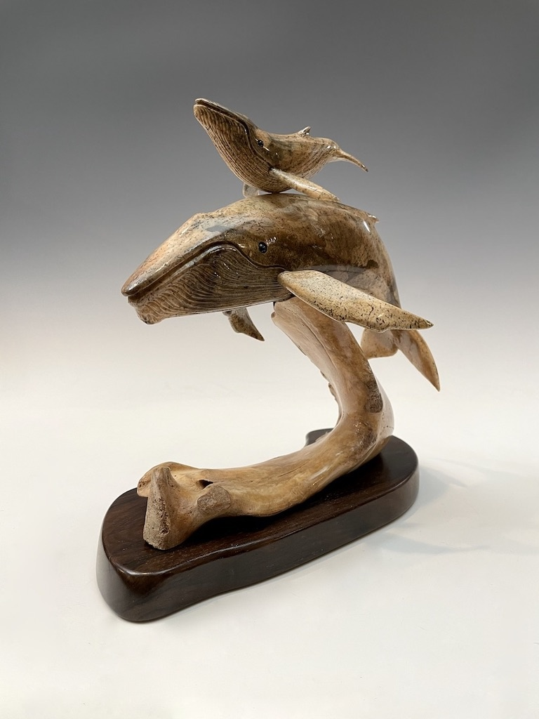 The Protector - Humpback Whale and Calf #475-SOLD