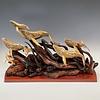 Whale Migration Sculpture #497-SOLD