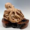 Octavius - Marble Octopus Sculpture #364