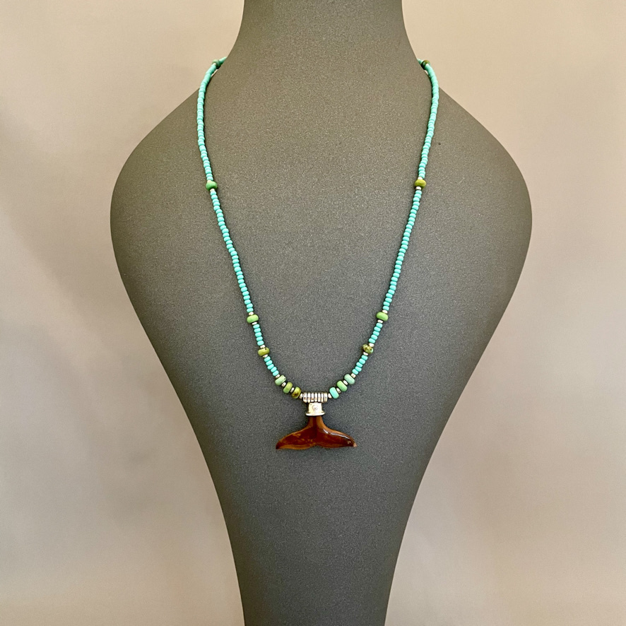 Whaletail Necklace #525