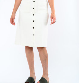 LUCCA BRINLEY BUTTON SKIRT